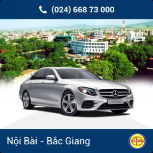 Taxi Nội Bài đi TP Bắc Giang