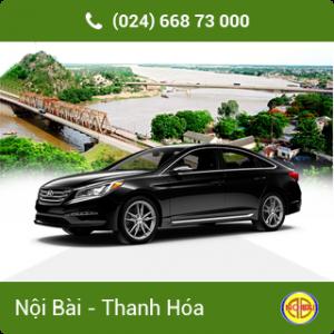 Taxi Nội Bài đi TP Thanh Hóa