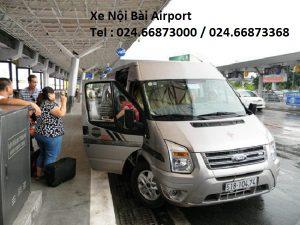 Taxi Nội Bài – Hà Nội : 500k/16 chỗ