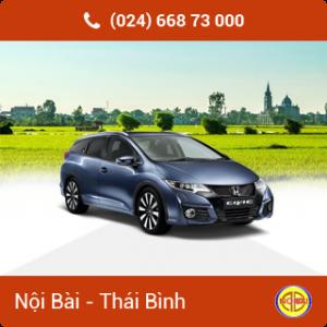 Taxi Sân Bay Nội Bài đi Thái Bình