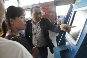 Thủ tục trực tuyến để bay nhanh/Taxi Nội Bài Service Airport