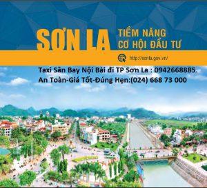 Taxi Sân Bay Nội Bài đi TP SƠN LA