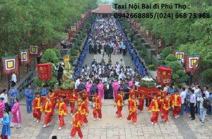Đón Sân Bay Nội Bài đi Phú Thọ