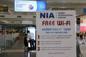 Wifi Miễn phí Tại Sân Bay Nội Bài