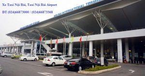 Số điện thoại bảng giá cước Taxi Sân Bay Nội Bài